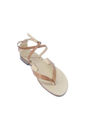 Handmade Capri Sandals Da Costanzo | 5032256 | 2445MARRONE