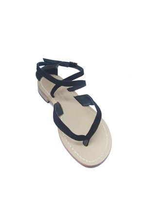 Handmade Capri Sandals Da Costanzo | 5032256 | 2445NERO