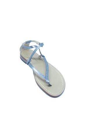 Handmade Capri sandals Da Costanzo | 5032256 | 2453/BRARGENTO