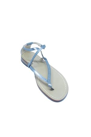 Sandali capresi artigianali Da Costanzo | 5032256 | 2453/BRARGENTO