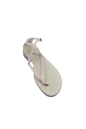 Handmade Capri sandals Da Costanzo | 5032256 | 2453/BRBEIGE