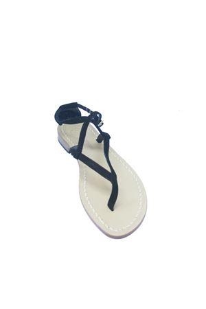 Handmade Capri sandals Da Costanzo | 5032256 | 2453/BRNERO