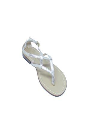 handmade Capri sandals Da Costanzo | 5032256 | 2453/BRPLATINO