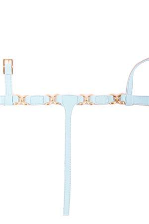 Light blue Capri sandals Da Costanzo | 5032256 | FARFALLAAZZURRO