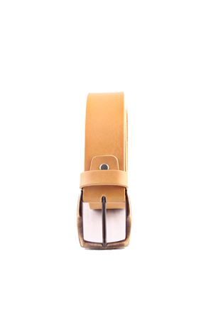 Yellow leather belt Da Costanzo | 22 | FIBIA ASIMMETRICAGIALLO