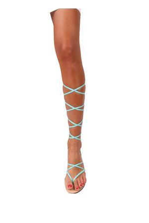 Blue gladiator Capri sandals Da Costanzo | 5032256 | GLADIATORE CAPRIAZZURRO