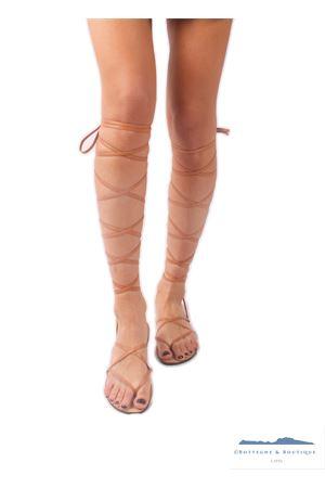 Sandali capresi modello Gladiatore Da Costanzo | 5032256 | GLADIATORE CAPRIMARRONE