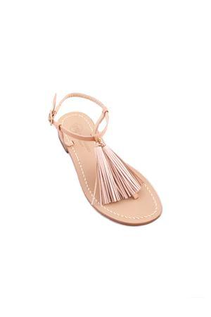 Da Costanzo Capri pink sandals Da Costanzo | 5032256 | NAPPINE2 PELLEROSA