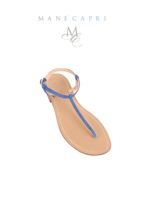 Gold handmade sandals Da Costanzo | 5032256 | S1918BLU