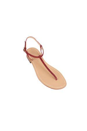 Sandali capresi artigianali infradito Da Costanzo | 5032256 | S1918BORDEAU