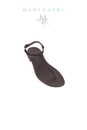 Sandali capresi artigianali infradito Da Costanzo | 5032256 | S1918NERO/NERO