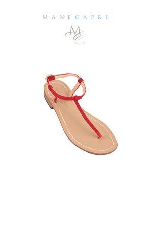 Sandali capresi artigianali infradito Da Costanzo | 5032256 | S1918ROSSO