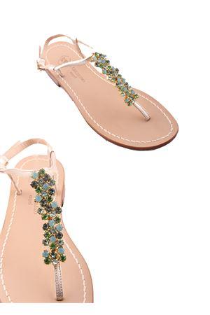 Capri Jewel Sandals Da Costanzo | 5032256 | S3082VERDE