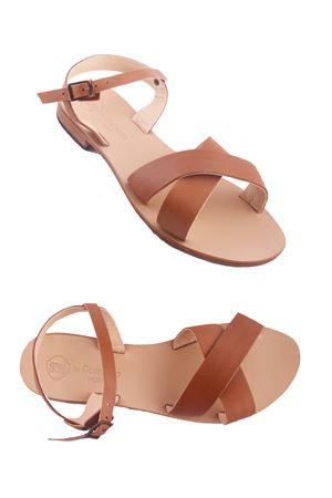 Handmade Capri Sandals Da Costanzo | 5032256 | XV1850BEIGE