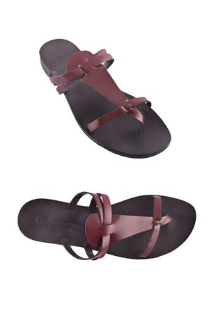 Handmade Capri Sandals Da Costanzo | 5032256 | XV2499BORDEAUX