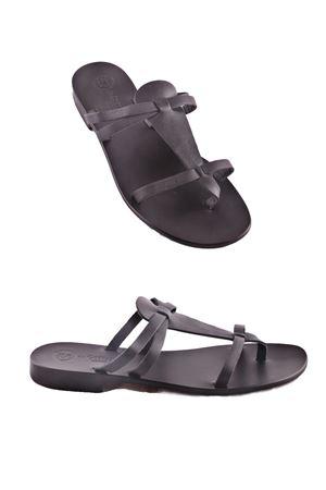 Handmade Capri Sandals Da Costanzo | 5032256 | XV2499NERO