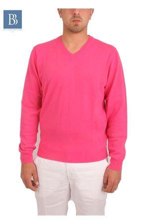 Men cachemere knitwear Denny | 20000031 | COLLOVFUCSIA