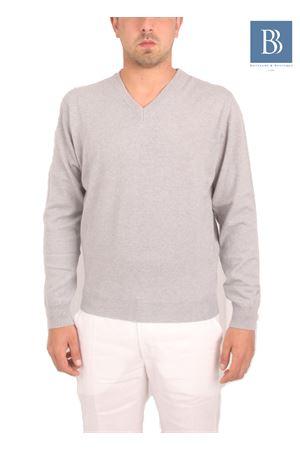 Maglia da uomo in cachemere grigio Denny | 20000031 | COLLOVGRIGIO