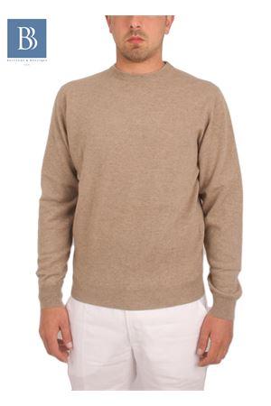Maglia da uomo in cachemere beige Denny | 20000031 | PARICOLLOBEIGE