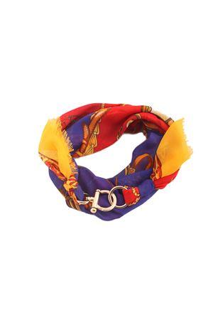 Foulard regolabile con gancio decorativo Grakko Fashion | -709280361 | GR145BLU