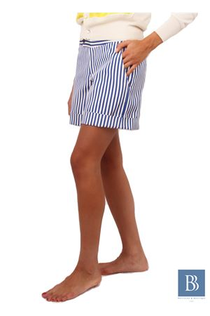 Hand-crafted pure silk short Laboratorio Capri | 30 | LAB 216BLU