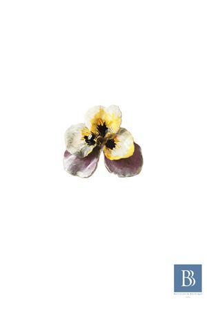 Anello in ottone con fiore Laboratorio Capri | 5032250 | LAB153FIORE