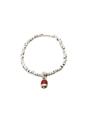 Bracciale con campanella di Capri rossa Pierino Jewels | 36 | 3098CONCHIGLIA