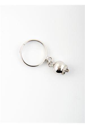 Anello regolabile con Campanella Caprese in argento Pierino Jewels | 5032250 | ANELLO LISCIOARGENTO