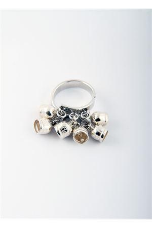 Anello regolabile con Campanelle Capresi in argento Pierino Jewels | 5032250 | ANELLO MULTIBELLARGENTO
