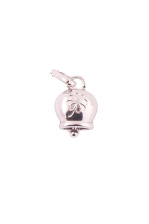 Ciondolo campanella di Capri con quadrifoglio argento Pierino Jewels | 5032249 | QUADRIFOGLIOARGENTO