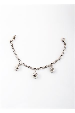 Bracciale in argento con tris di Campanelle Capresi Pierino Jewels | 36 | TRIO TRAFORATEMULTICOLOR