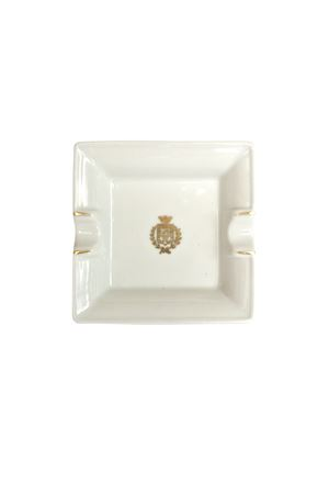 Grand Hotel Quisisana ashtray Quisisana Capri | 20000006 | LOGO ORO ASHTRAYBIANCO