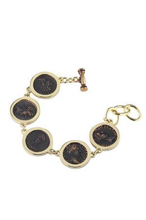 Bracelet with coins Angela Puttini Gioielli | 36 | SCAP7AARG DORATO