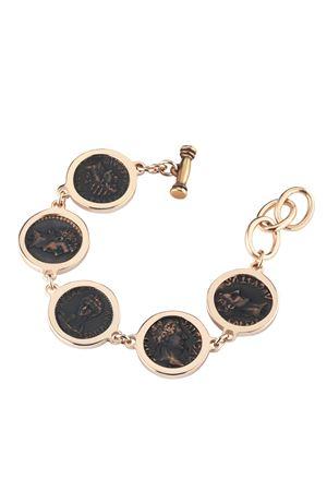 Bronze bracelet with coins Angela Puttini Gioielli | 36 | SCAP7DARG BRONZO
