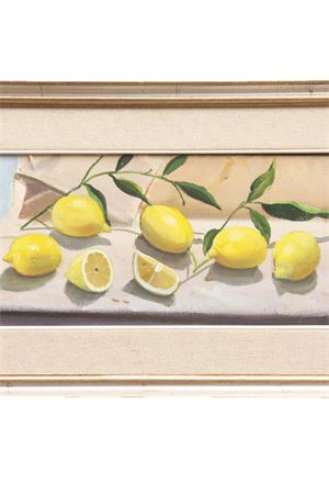 Capri Lemons oil on canvas Antonio Palomba | 20000003 | LIMONI-CAPRI20X40