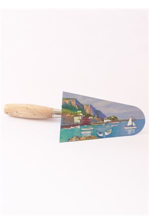 Marina Grande di Capri oil painting on trowel Antonio Palomba | 20000038 | MARINA GRANDEMARINA GRANDE