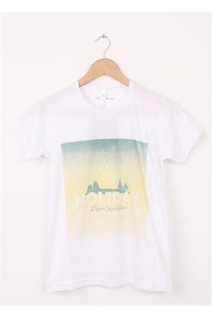 Cotton T-shirt Capri Paradise Aram V Capri | 8 | 207860164VERDE