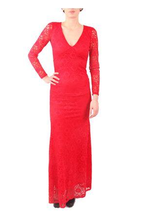 Abito rosso elegante in pizzo modello a sirena Aram V Capri | 5032262 | MDFW16PSRROSSO