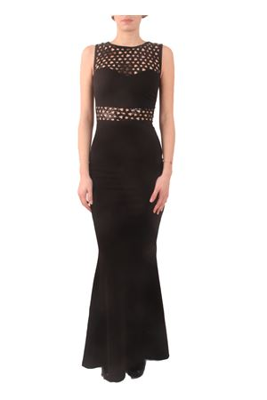 Mermaid black dress with sequins embroidery Aram V Capri | 5032262 | MDFW16SPB2NERO