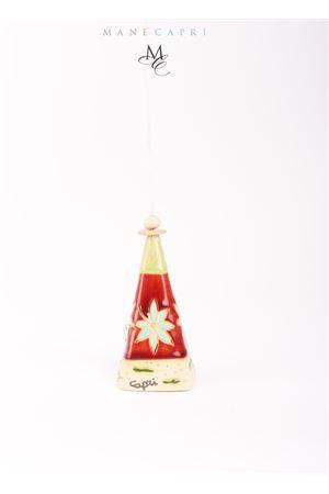 Campanella di Capri natalizia portafortuna Capri Bell | 20000008 | 20100995QUADRATA