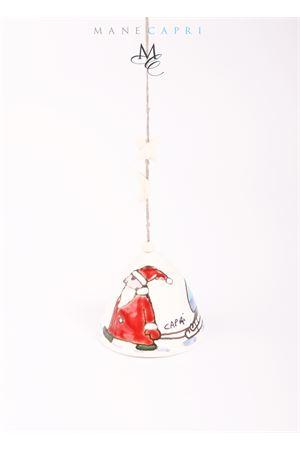 Santa Claus Capri bell in ceramic Capri Bell | 20000008 | 20103392BIANCA NATALE
