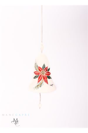Campanella di Capri portafortuna fiore di Natale Capri Bell | 20000008 | 20103842FIORE NATALE GR