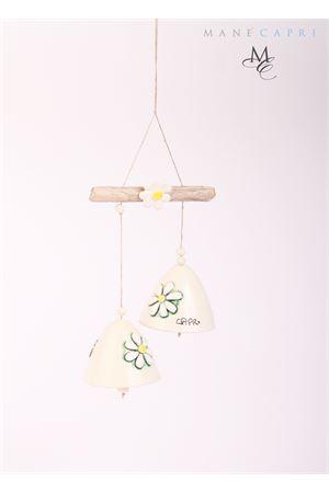 Decorazione con Campanelle di Capri in ceramica Capri Bell | 20000008 | 20104207DUE CAMPANELLE