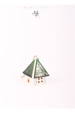 Campanella di Capri portafortuna a forma di casetta da collezione Capri Bell | 20000008 | 20104610CASETTA