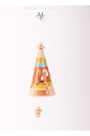 Campanella portafortuna da collezione decorata con faraglioni e limoni Capri Bell | 20000008 | 20104986LIMONI E FARAGLIONI