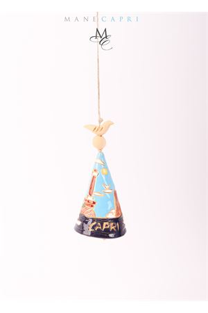 Campanella di Capri portafortuna con Faro e Faraglioni Capri Bell | 20000008 | 20105037FARO E FARAGLIONI