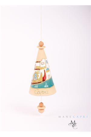 Campanella portafortuna in ceramica decorativa Capri Bell | 20000008 | 20105112M.GRANDE GR