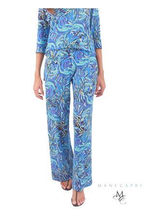 Pantaloni sartoriali elasticizzati in jersey Capri Chic | 9 | CLAUDIA PANTBLU