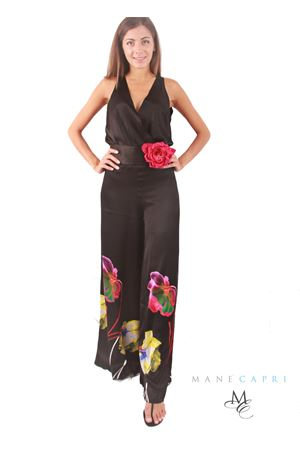 Long elegant silk jumpsuit Capri Chic | 19 | TUTA FIORINERO