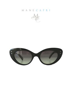 Black sunglasses vintage style Capri People | 53 | 4030NERO